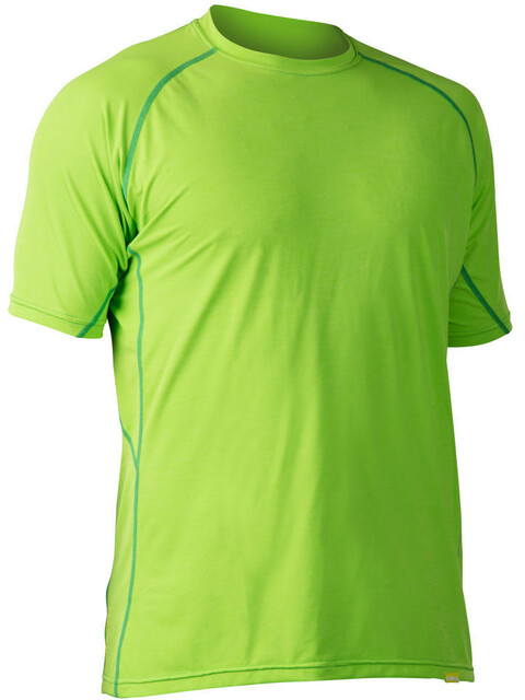 NRS H2Core Silkweight - T-shirt manches courtes Homme - vert